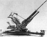 25mm Hotchkiss AA gun model 1939.