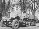 Famo halftracked carrier/tractor.