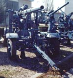88mm Krupp AA gun model 1936.
