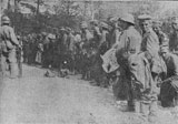German prisoners captured at Marasti
