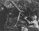 Romanian machinegun at Oituz front, July 1917.
