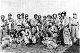 Group of Romanian paratroopers during the spring of 1944