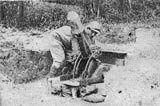 Trench mortar