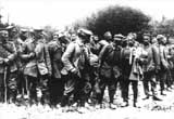 German prisoners captured during the battles of 1917.