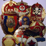 Communist badges and unofficial medals